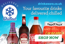 Your favourite drinks delivered chilled
