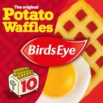 Birds Eye 10 Original Potato Waffles