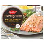 Birds Eye Inspirations 2 Salmon Fillets With Lemon & Herb