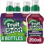 Robinsons Fruit Shoot Low Sugar Blackcurrant & Apple, Delivered Chilled