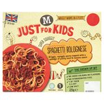 M Just for Kids Spaghetti Bolognese