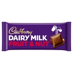 Cadbury Dairy Milk Fruit & Nut Bar