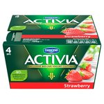 Activia Strawberry Yogurts