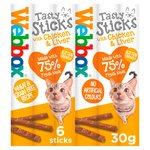Webbox Cats Delight Chicken & Liver Tasty Sticks