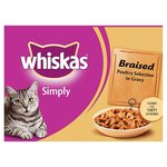 Whiskas Simply Braised Poultry Selection in Gravy