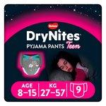 Huggies DryNites Girls Pyjama Pants 8-15 years