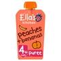 Ella's Kitchen 4 Mths+ Organic Peaches & Bananas