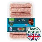 Morrisons The Best Pork Chipolatas 12 Pack