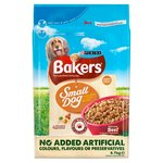 Bakers Small Dog Food Beef and Vegetable