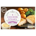 Morrisons Garlic & Herb Chicken Steaks