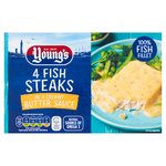 Young's Fish Steaks In Butter Sauce