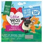 Yeo Valley Kids Organic Little Yeos Yogurt