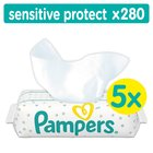 Pampers Sensitive 5 Packs 280 Baby Wipes 280 per pack