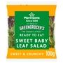 Morrisons Sweet Baby Leaf Salad