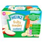 Heinz Fruity Custard Fruit Medley