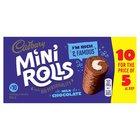 Cadbury Mini Rolls Chocolate 100% Extra Free