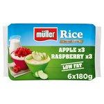 Muller Rice Raspberry & Apple Low Fat Multipack Dessert