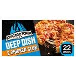 Chicago Town Deep Dish Chicken Club Pizza