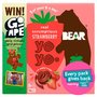 Bear Yo Yo Strawbery 5 Pack