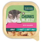 Morrisons Chunks In Jelly Single Tray Salmon