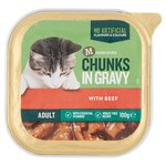 Morrisons Chunks In Gravy Single Tray Beef