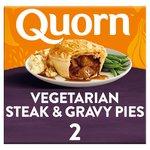 Quorn Steak Style & Gravy Pie