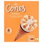 Morrisons Toffee Ice Cream Cones