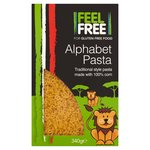 Feel Free Gluten Free Alphabet Pasta