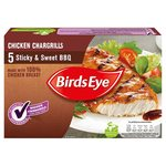 Birds Eye Sticky & Sweet BBQ Chicken Chargrills 5 Pack