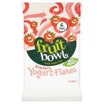 Fruit Bowl Strawberry Yogurt Flakes
