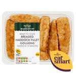 Morrisons Breaded Haddock Goujons
