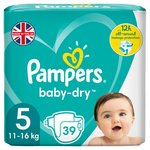 Pampers Baby Dry Size 5 Essential Pack