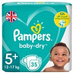 Pampers Baby Dry Size 5+ Essential Pack