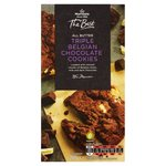 Morrisons The Best Triple Chocolate Cookies 200G