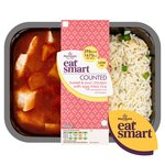 Morrisons Eat Smart Counted Sweet & Sour Chicken & Egg Fried Rice