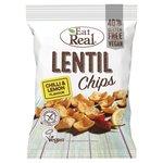 Eat Real Lentil Chips Chilli & Lemon