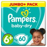 Pampers Baby Dry 6+ Giant